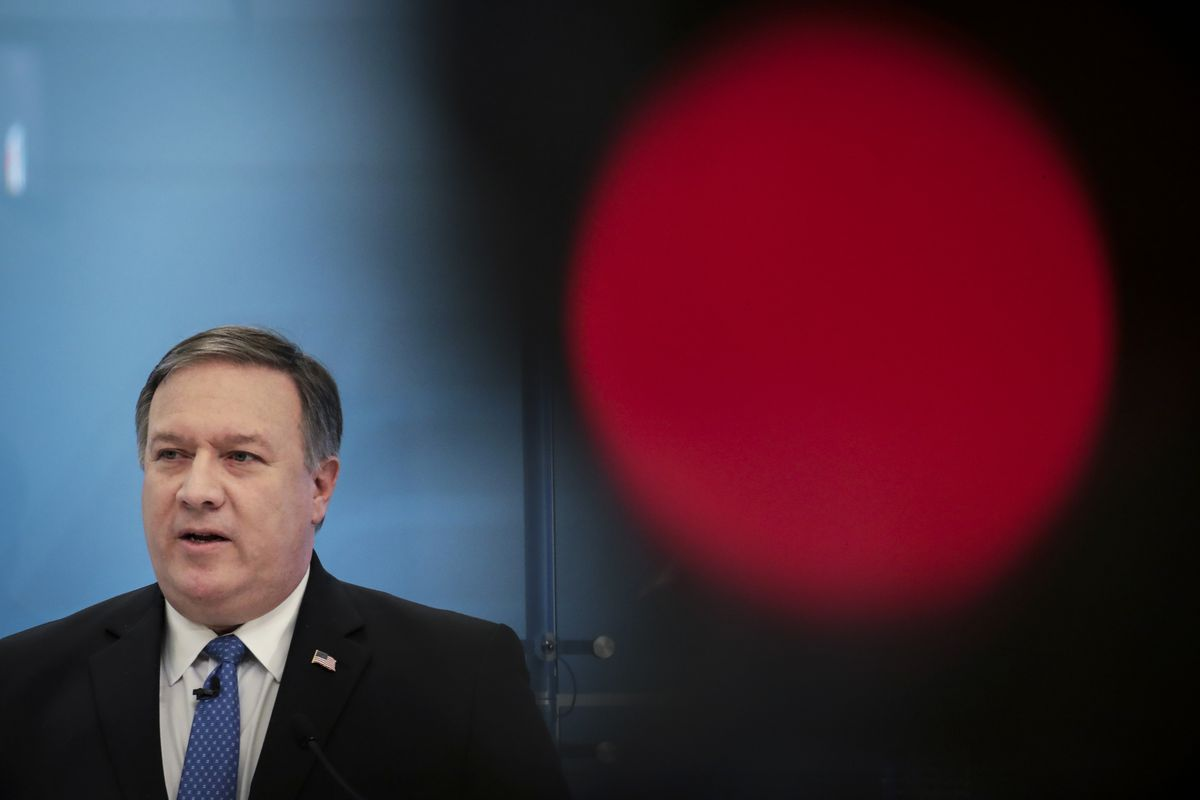 CIA Director Mike Pompeo Speaks At The American Enterprise Institute