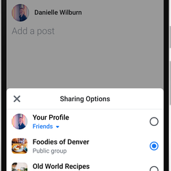 Facebook is redesigning its core app around the two parts