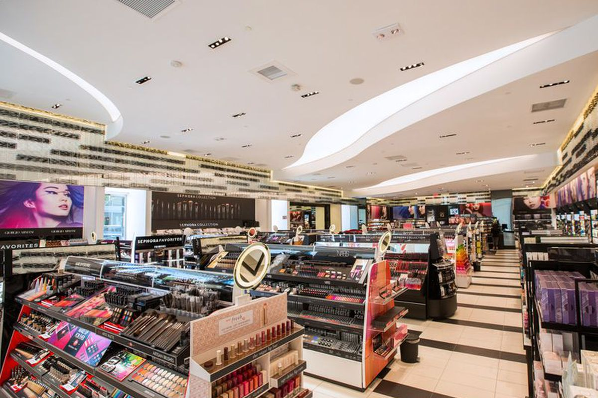 """Sephora's <a href=""""http://la.racked.com/2015/6/26/8826605/sephora-beverly-hills-opens"""">Beverly Hills boutique</a>."""