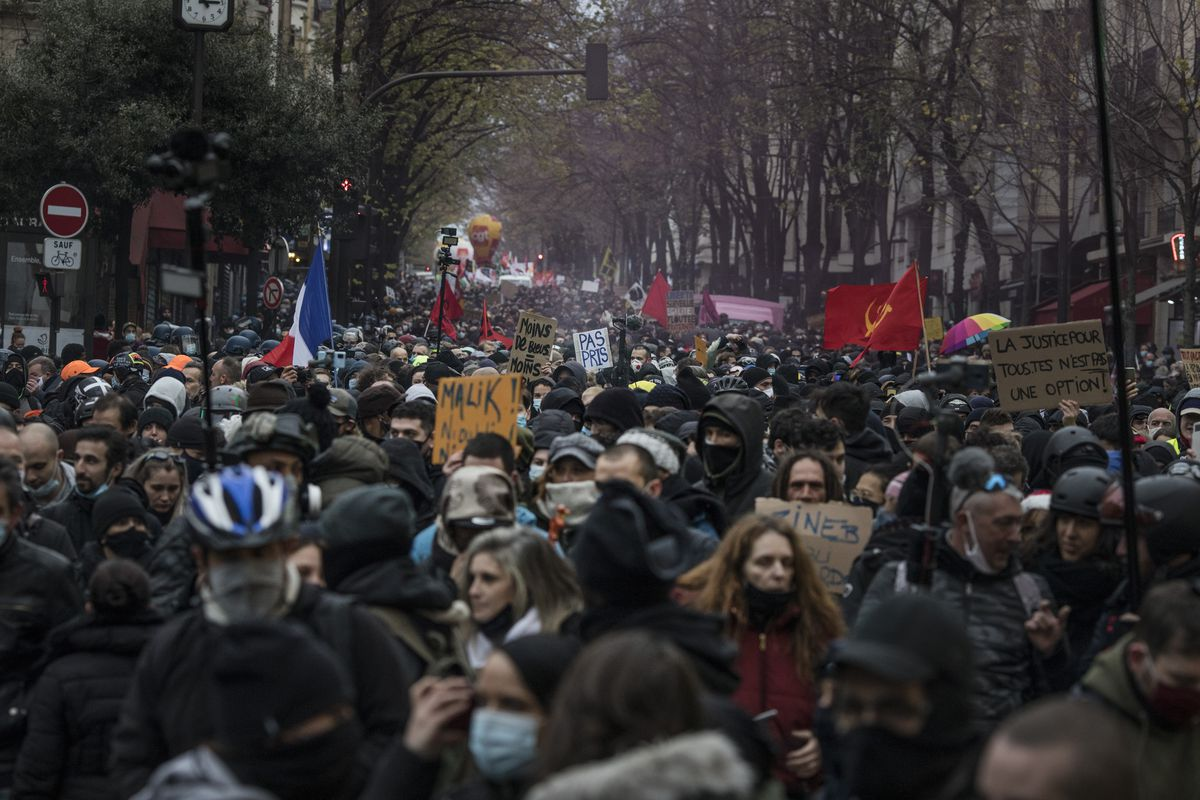 France's mass protests against a controversial police security bill, explained 2