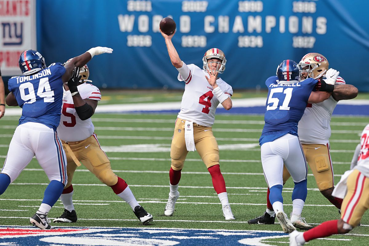 NFL: San Francisco 49ers at New York Giants