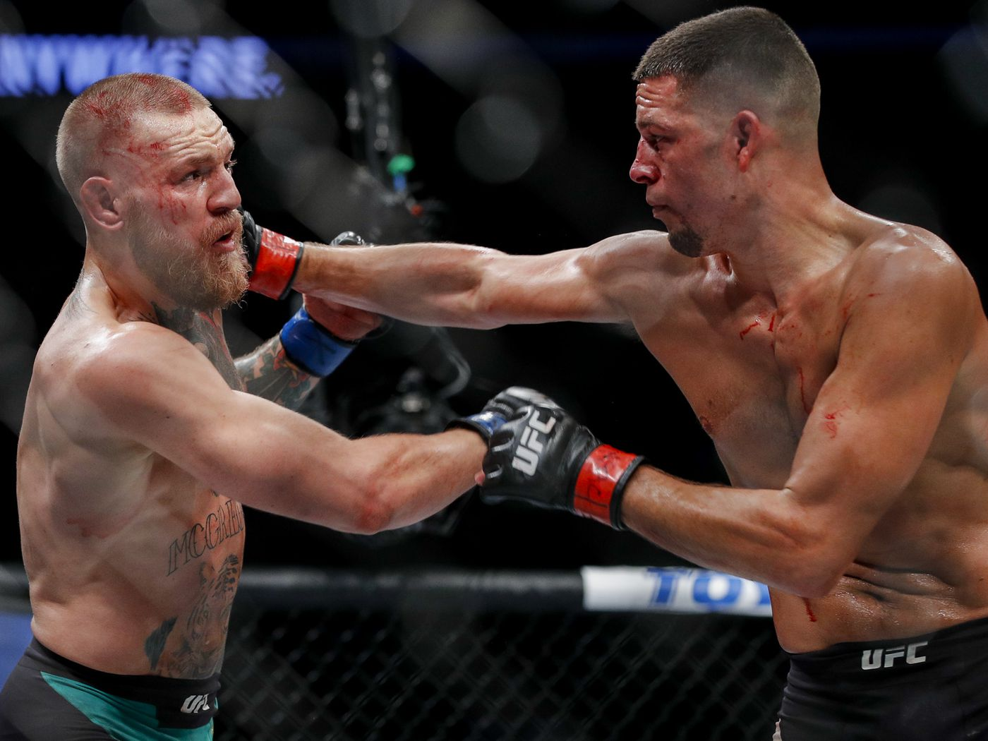 Nate Diaz Conor McGregor 2的图像结果