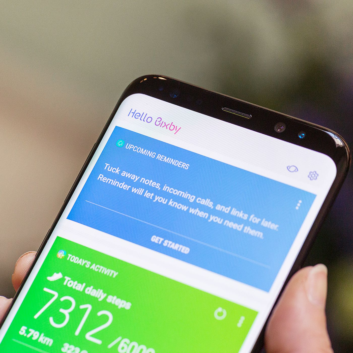 Yes you can change the Galaxy S8 s Bixby button to whatever app you