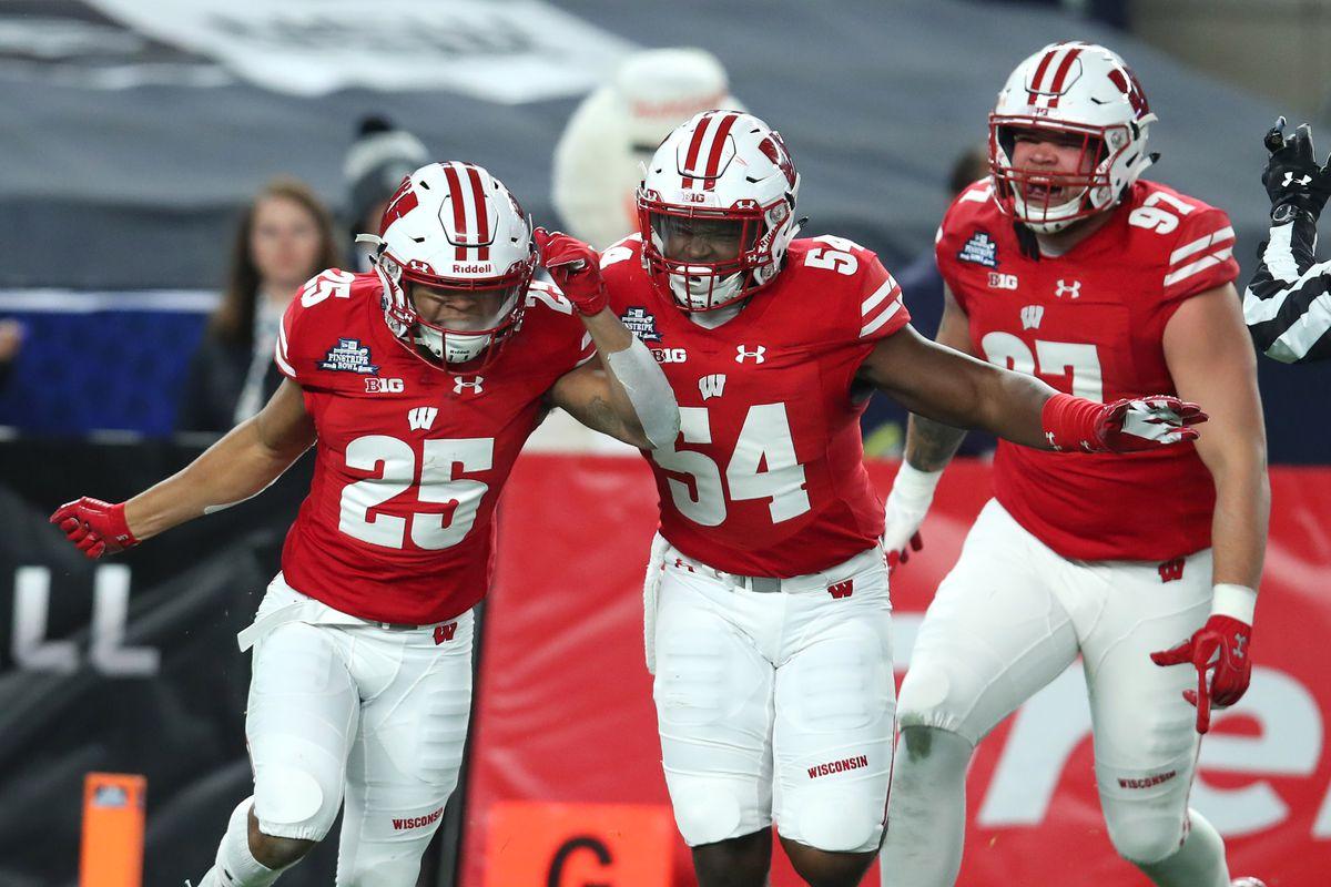 quality design 3e22d 3a3cc Wisconsin Badgers football practice no. 7: defensive recap ...