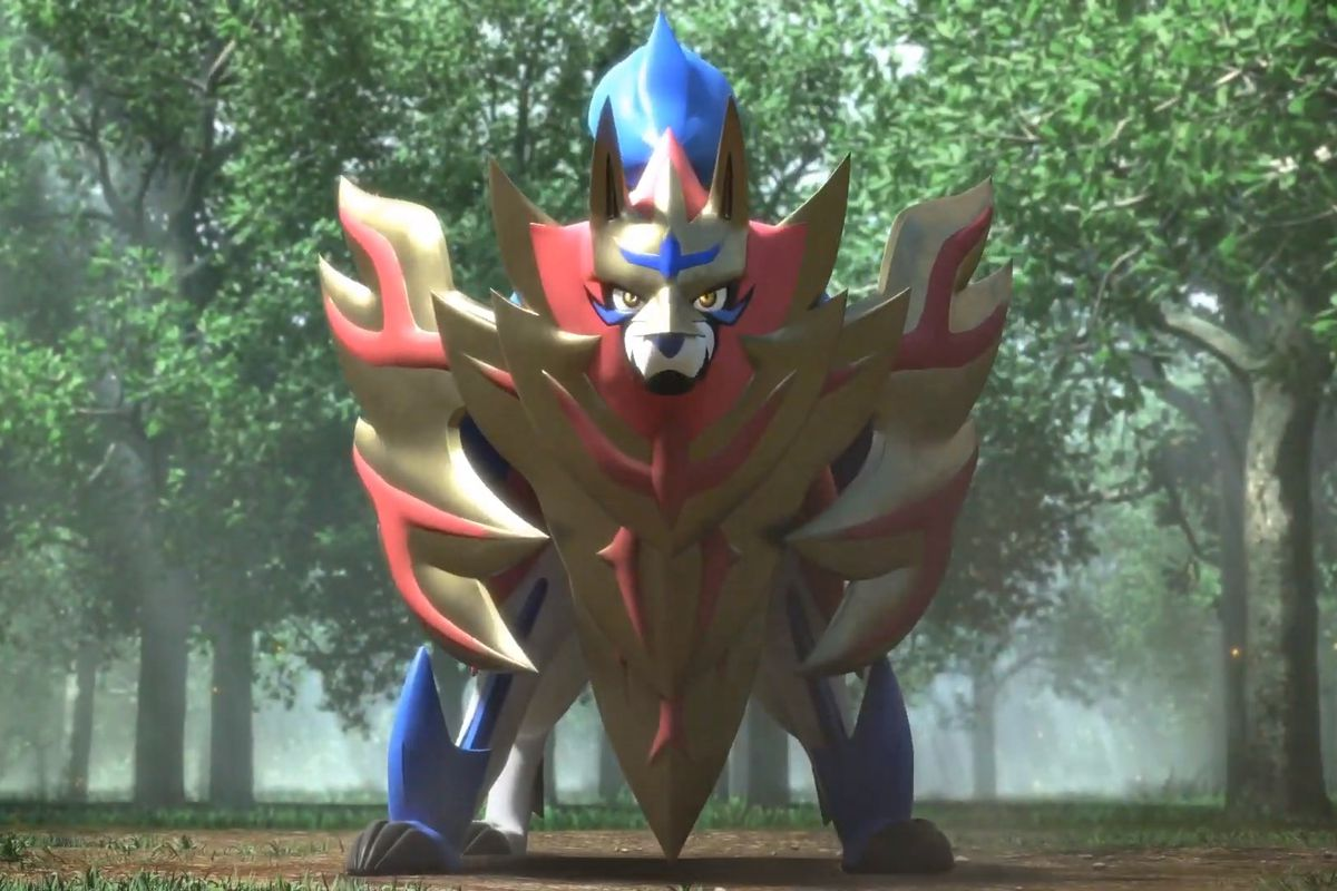 Zamazenta from Pokémon Sword and Shield