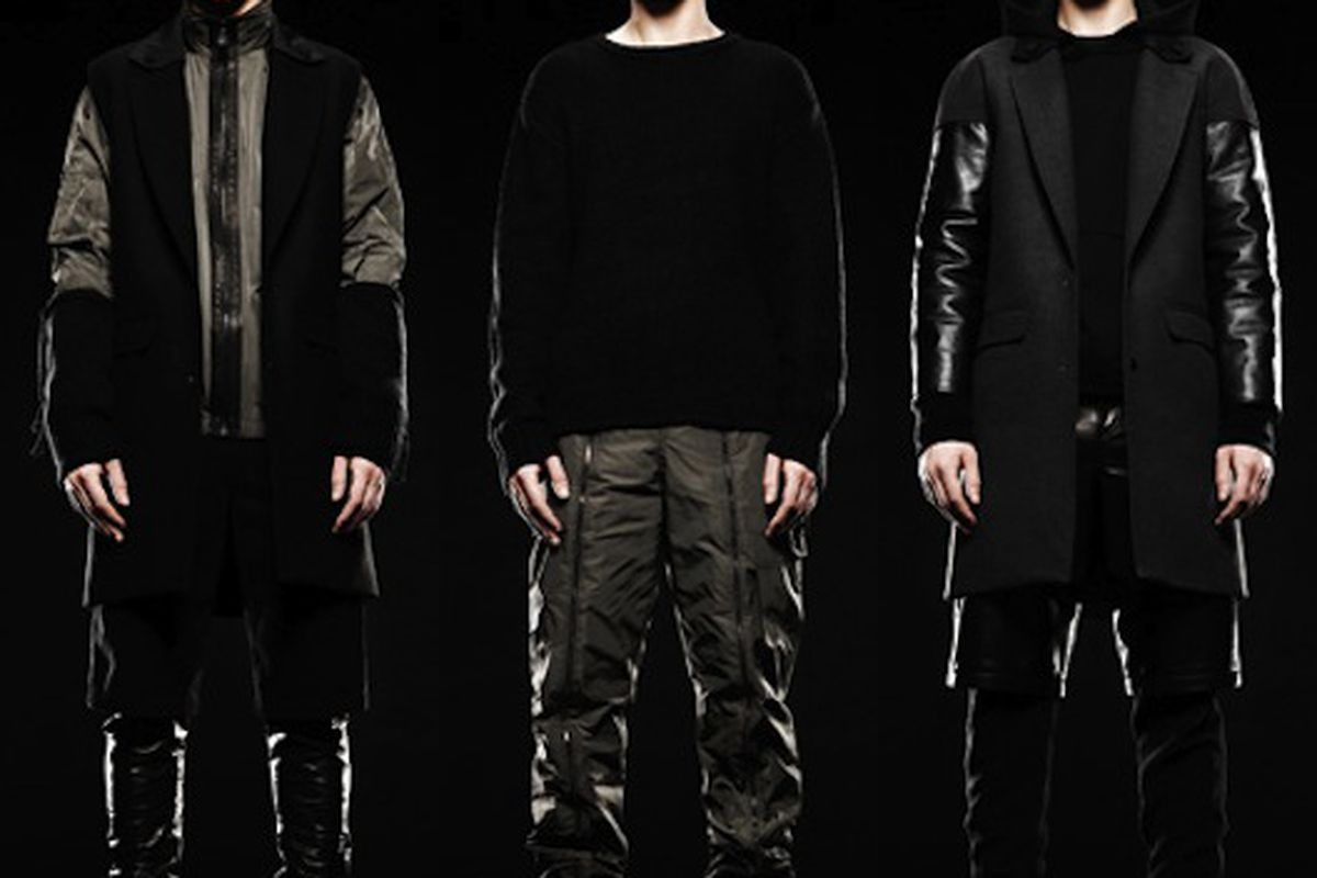 """Alexander Wang to do a men's line. Ladies, think of it this way: if you're into androgynous looks, which Wang is already known for, your AWang wardrobe just doubled. Image via <a href=""""http://ny.racked.com/archives/2011/03/29/alexander_wang_launches"""
