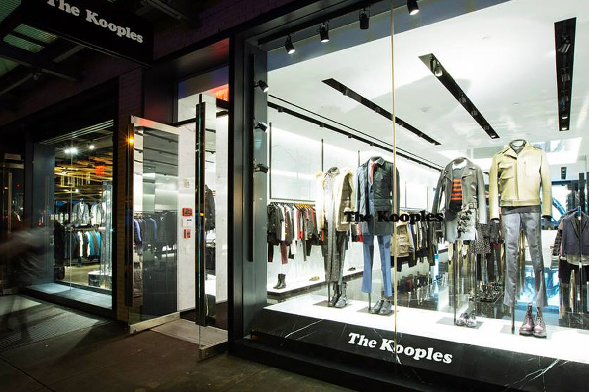 The Kooples' Meatpacking District store. Photo: Facebook