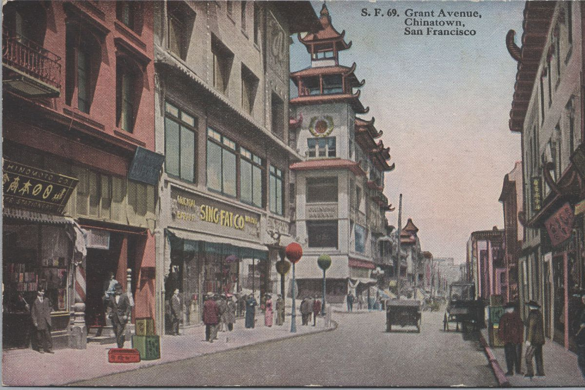 Chinatown's Grant Avenue: A look back at one of San