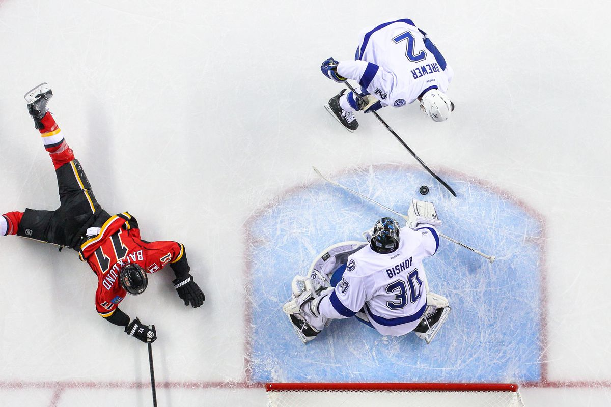 Ben Bishop is doing pretty well for himself in Tampa Bay.