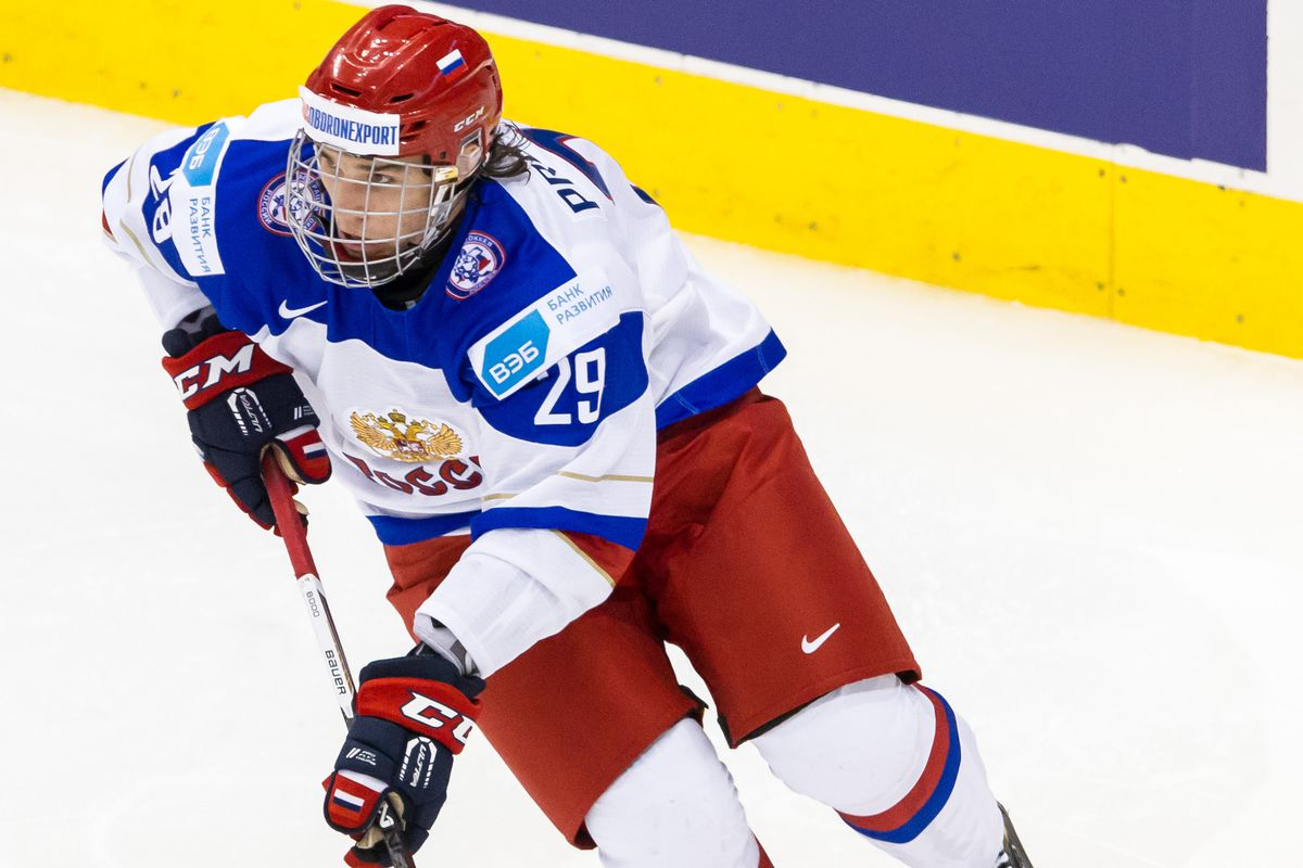 Ivan Provorov in action