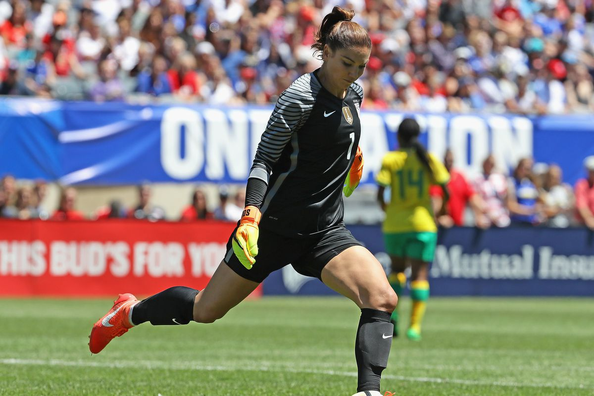 Hope Solo is the first goalkeeper in world history to reach 100 shutouts