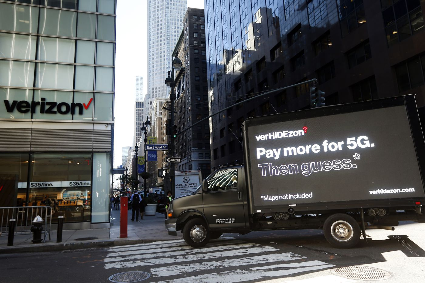 Verizon 5g Will Launch In New York City On September 26th The Verge