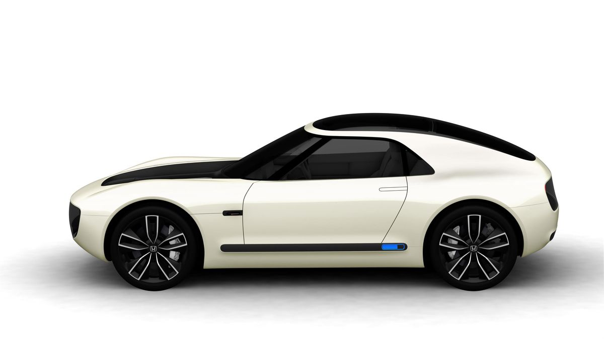 Yet Under The Sports Car Body Honda Ev Concept Hides Some Of Same Technology As Urban That S Already Set For Production In