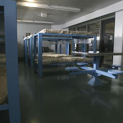 The Oxbow Jail, pictured on Nov. 11, 2008, has sat mostly mothballed ever since the 2,000-plus, more secure Salt Lake County Jail opened in 2000. But now county officials are looking at reopening the facility to deal with overcrowding, but it comes with a $9 million price tag. Currently, the partially empty jail houses 184 inmates. It has room for 552.