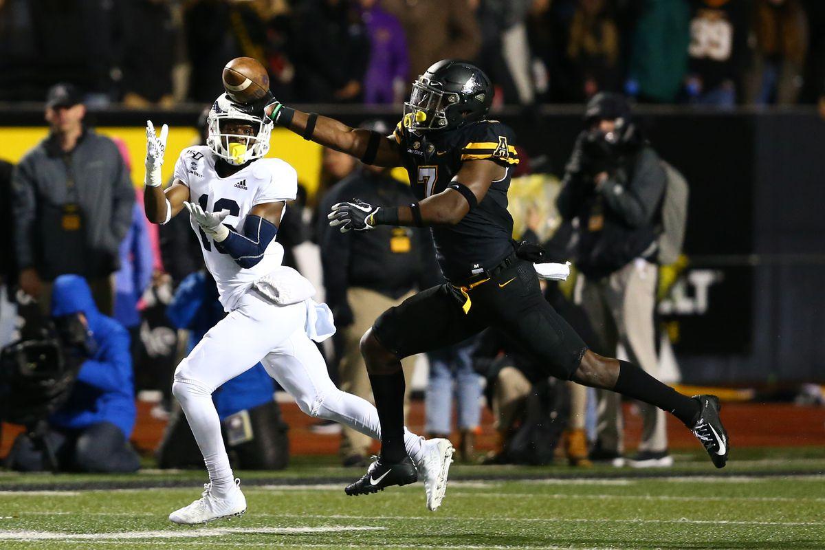 NCAA Football: Georgia Southern at Appalachian State