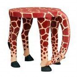 "<a href=""http://www.tenthousandvillages.com/home-decor/grazing-giraffe-stool"">Grazing Giraffe Stool</a>, $79 at Ten Thousand Villages"