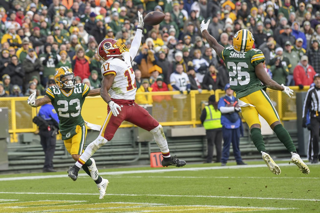 NFL-Washington Redskins at Green Bay Packers