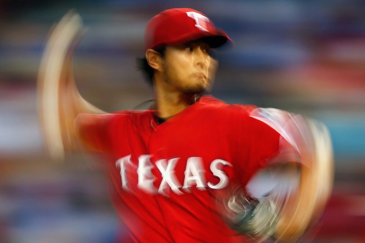 What it looks like to face Yu Darvish if you're a Miami Marlin