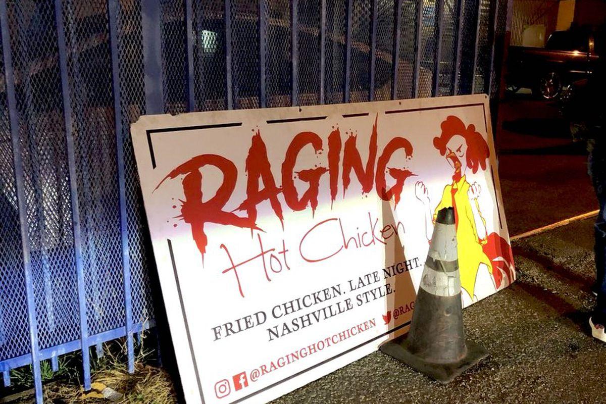 Raging Hot Chicken