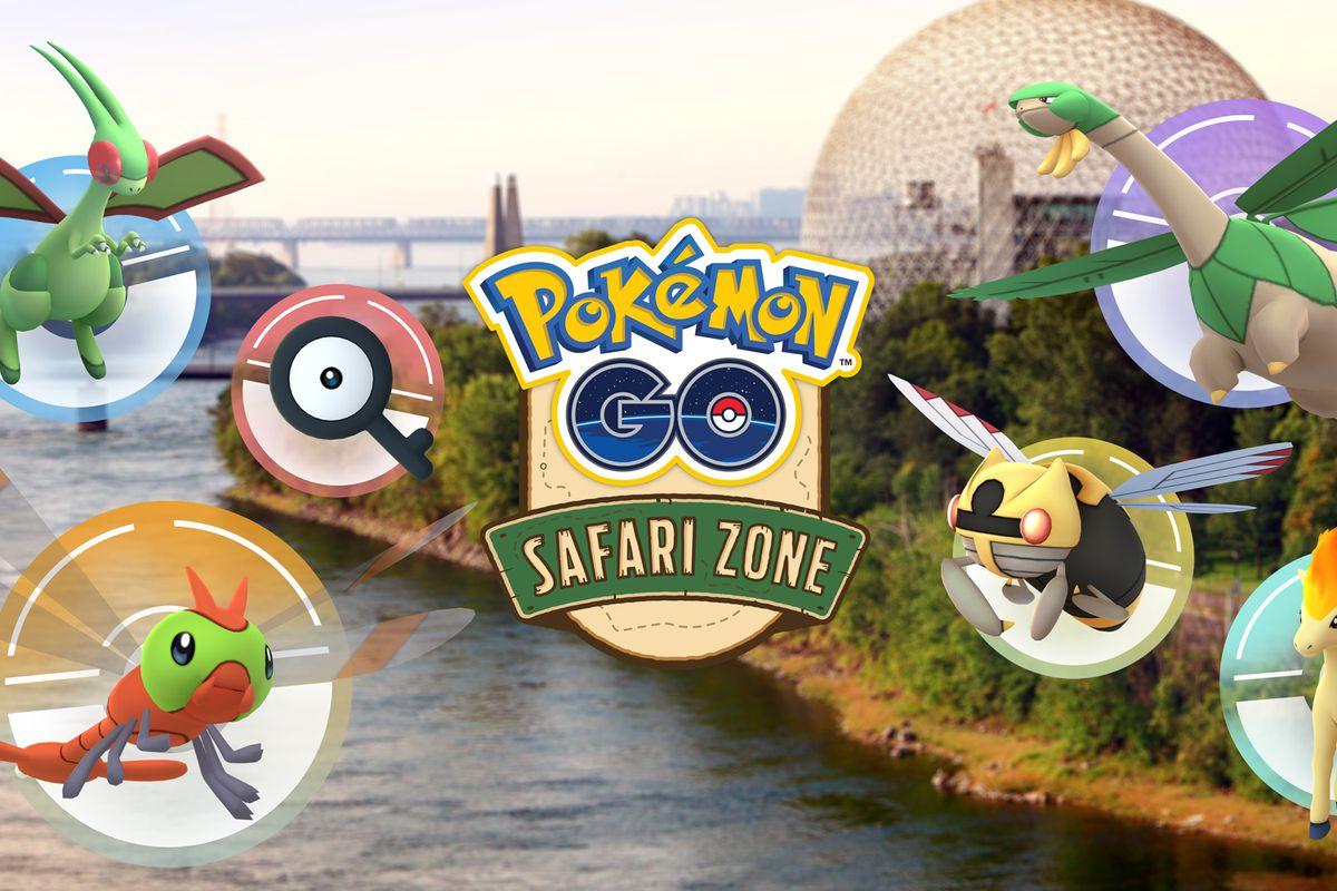 Safari Zone promotional image for Pokémon Go