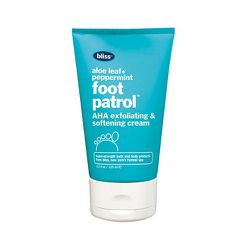 """If you share a bed with a significant other, you know the common courtesy of keeping your heels hydrated. Might as well smell like peppermint while you're at it. <b>Bliss</b> Foot Patrol, <a href=""""http://www.blissworld.com/brands/bliss/bliss-foot-patrol-2"""