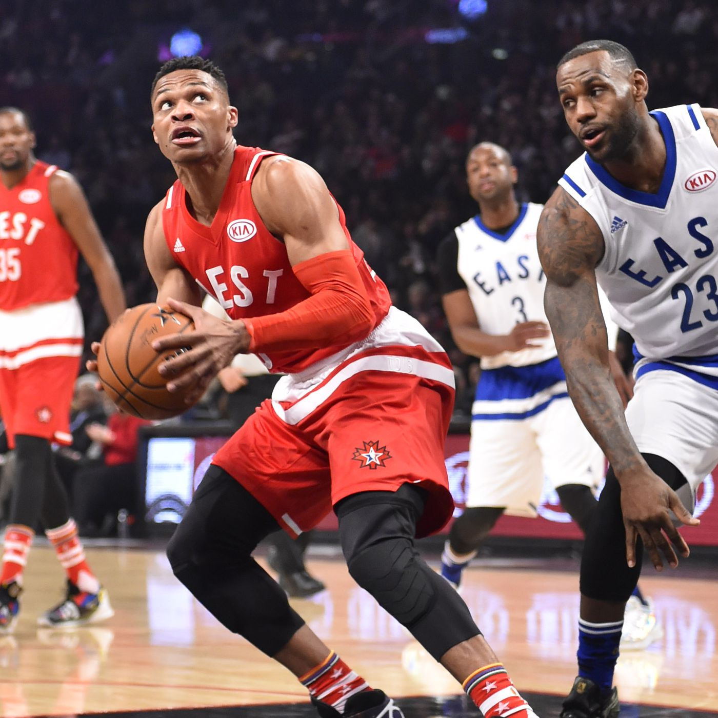 cf00c9c37 NBA All-Star Game 2016  West outscores East