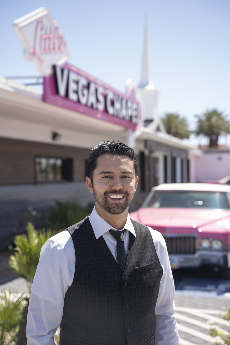 Michael_Kelly_Little_Vegas_Chapel 10 weddings a day: What it's like to run a wedding chapel in Las Vegas