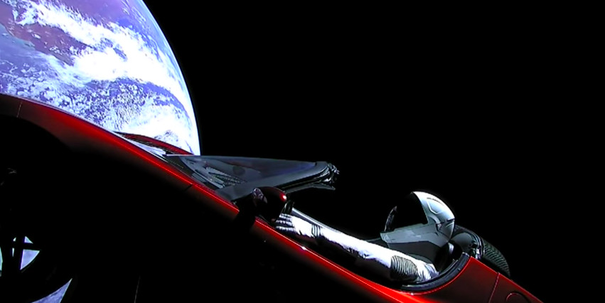 Track Elon Musk's Tesla Roadster in space with this aptly