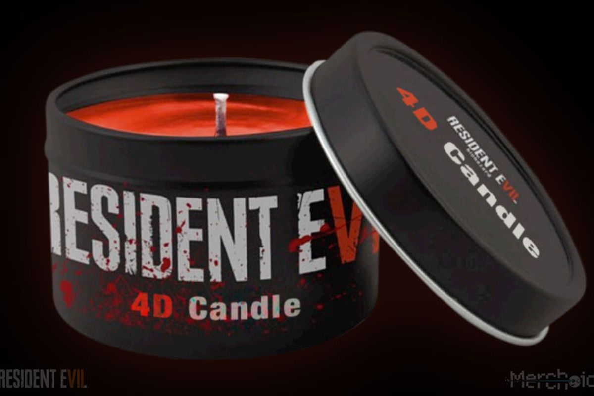 This Resident Evil 7 VR candle smells like blood - The Verge