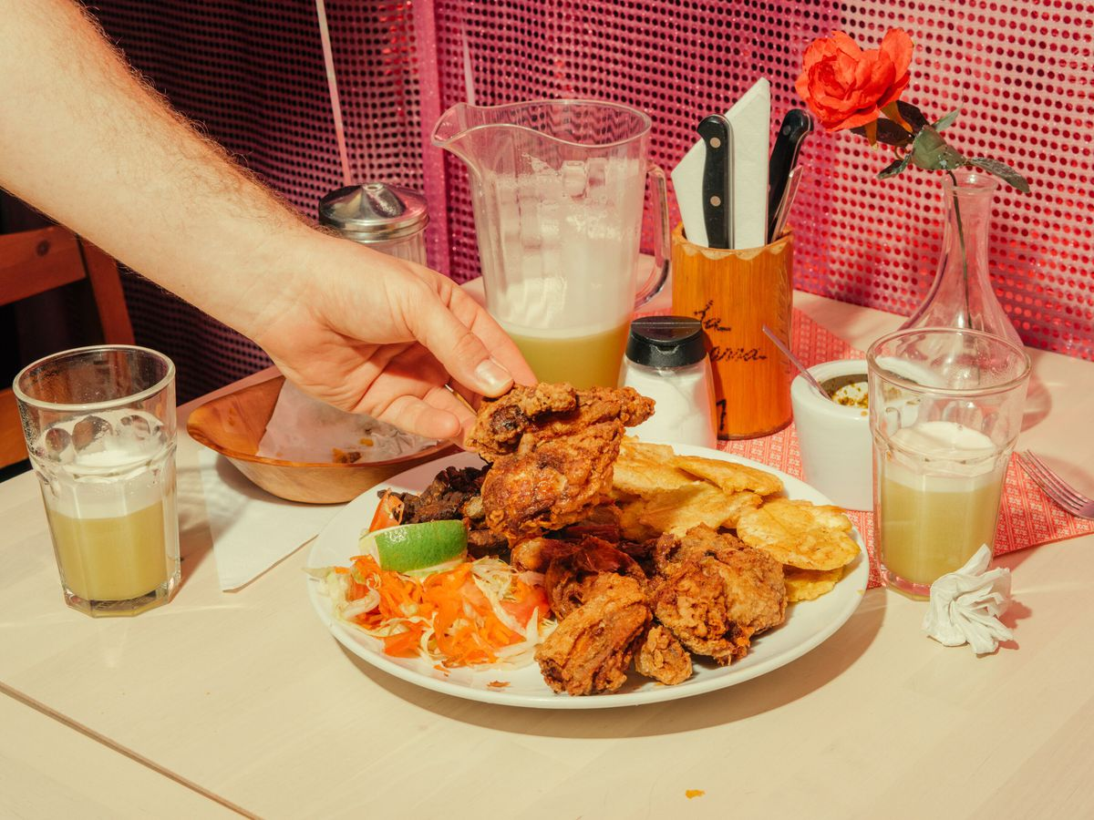 London's best fried chicken is at La Barra in Elephant and Castle. One of the best-value restaurants in London