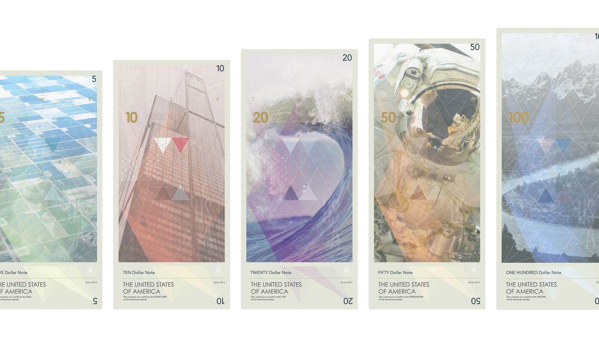 Currency Reimagined To Celebrate Ideas