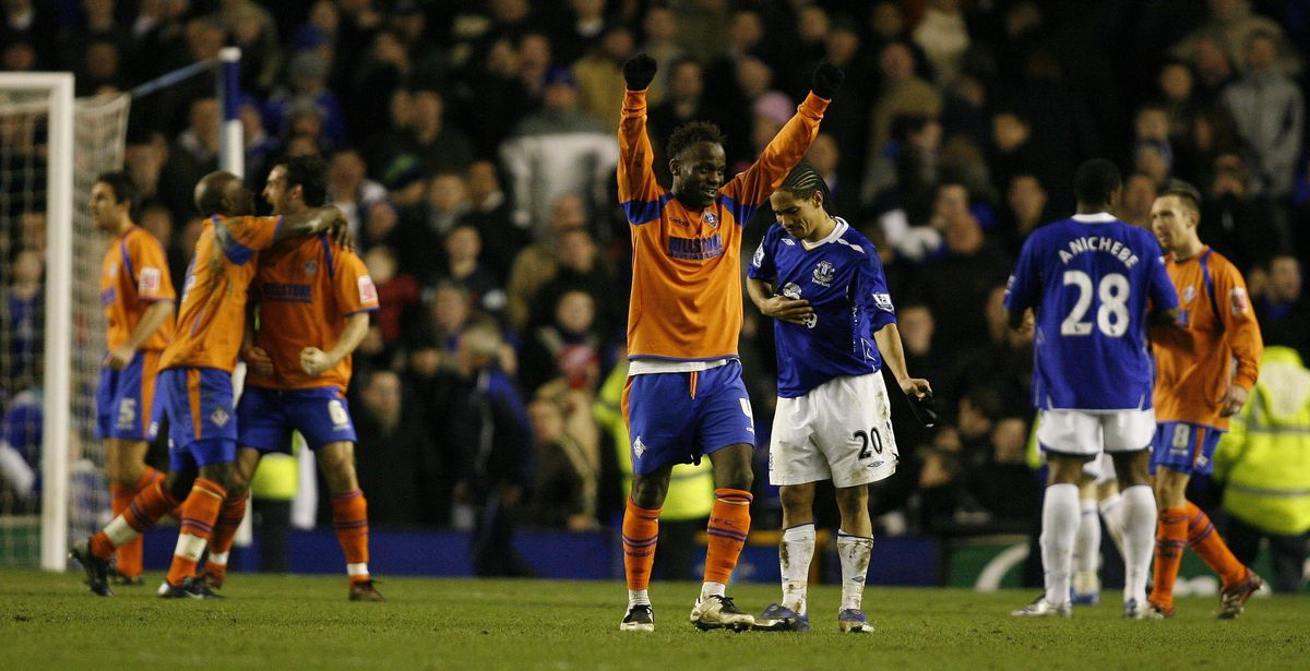 Soccer - FA Cup - Third Round - Everton v Oldham Athletic - Goodison Park