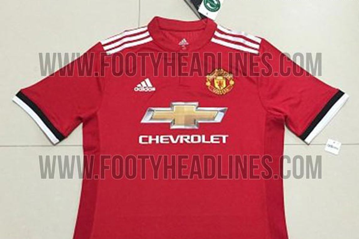 official photos 01369 e7285 Manchester United's 2017-2018 home kit leaked - The Busby Babe