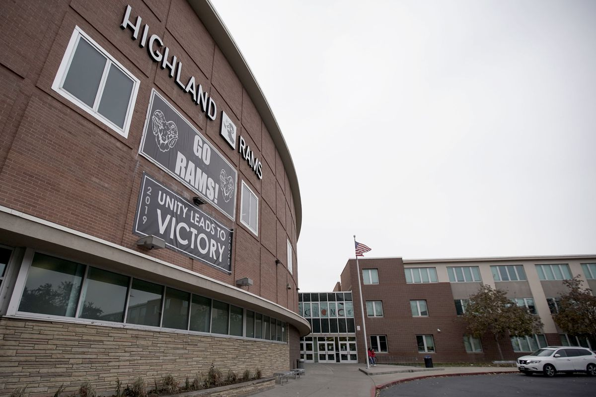 Highland High School in Salt Lake City is pictured on Monday, Oct. 28, 2019.