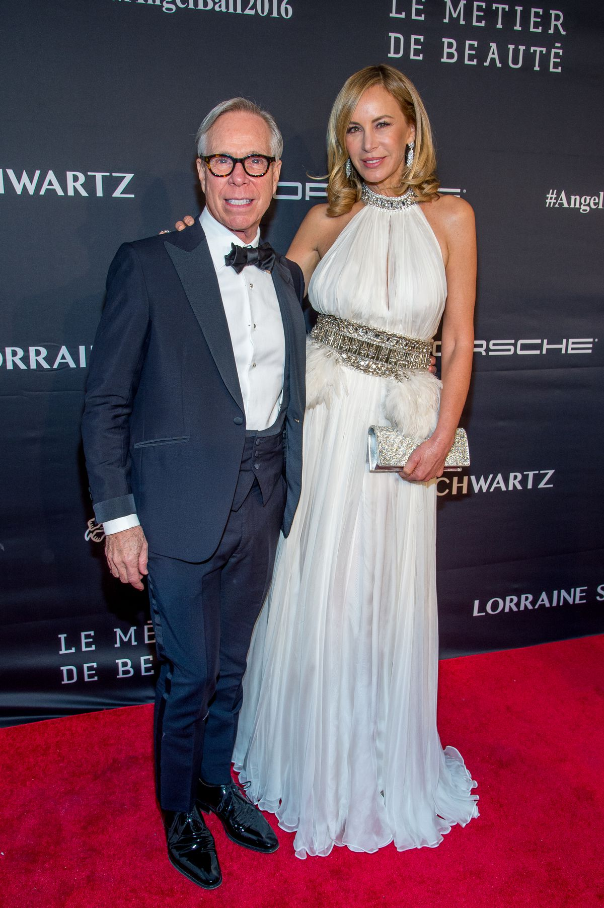 Tommy Hilfiger with wife Dee Ocleppo at the Angel Ball
