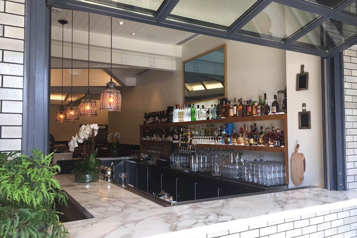 The bar at Canon Club, Beverly Hills