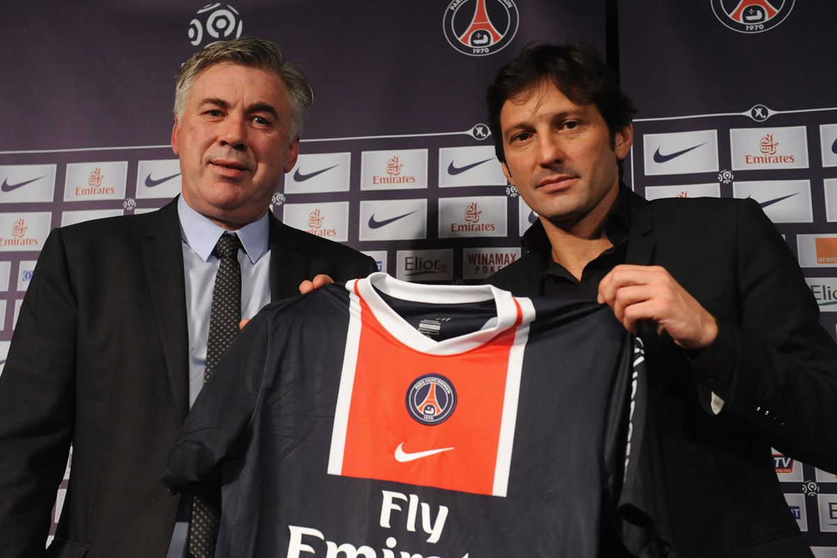 Could Carlo Ancelotti be looking to bring Kaka to Parc at Parc des Princes this summer?.  (Photo by Antoine Antoniol/Getty Images)