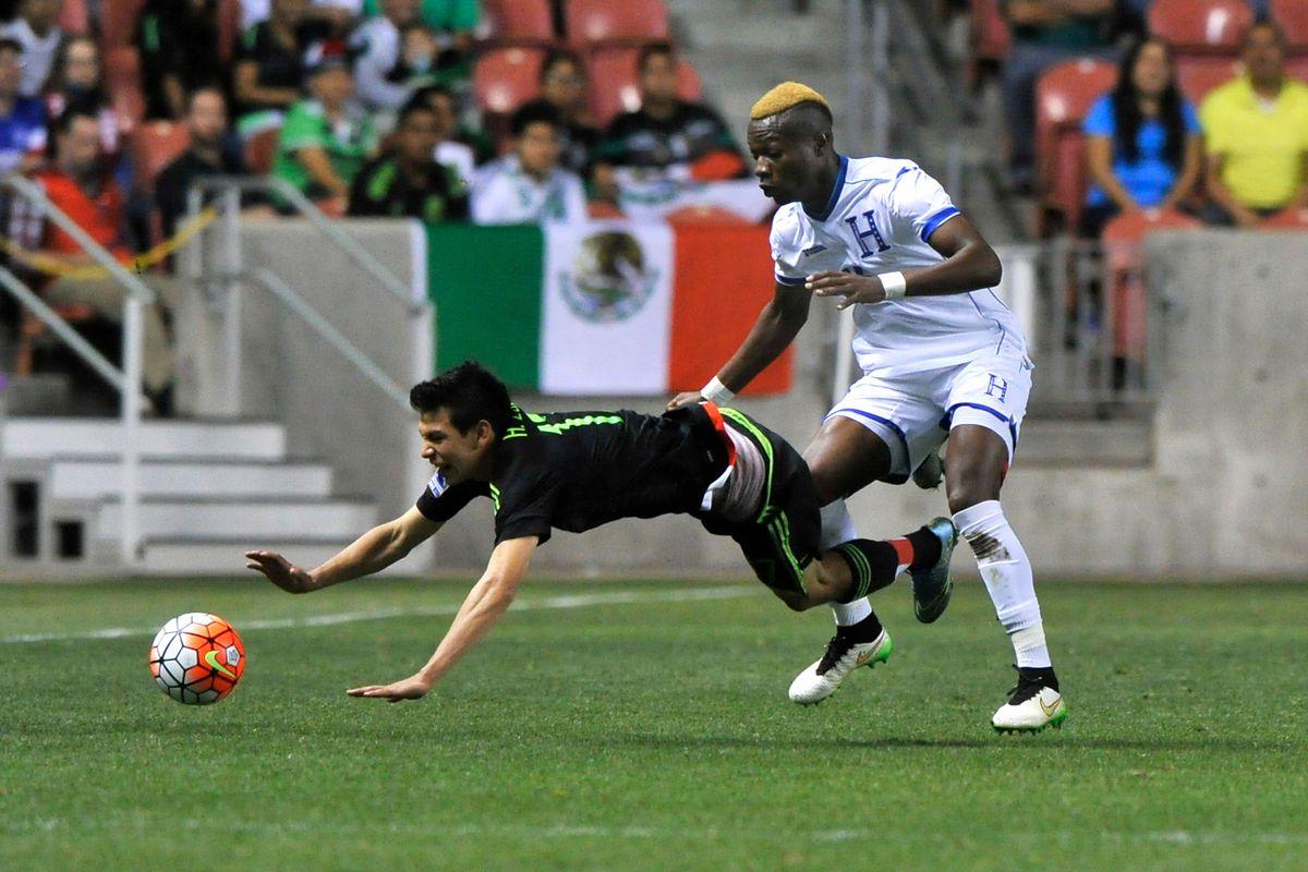 Honduras v Mexico: Final-2015 CONCACAF Olympic Qualifying