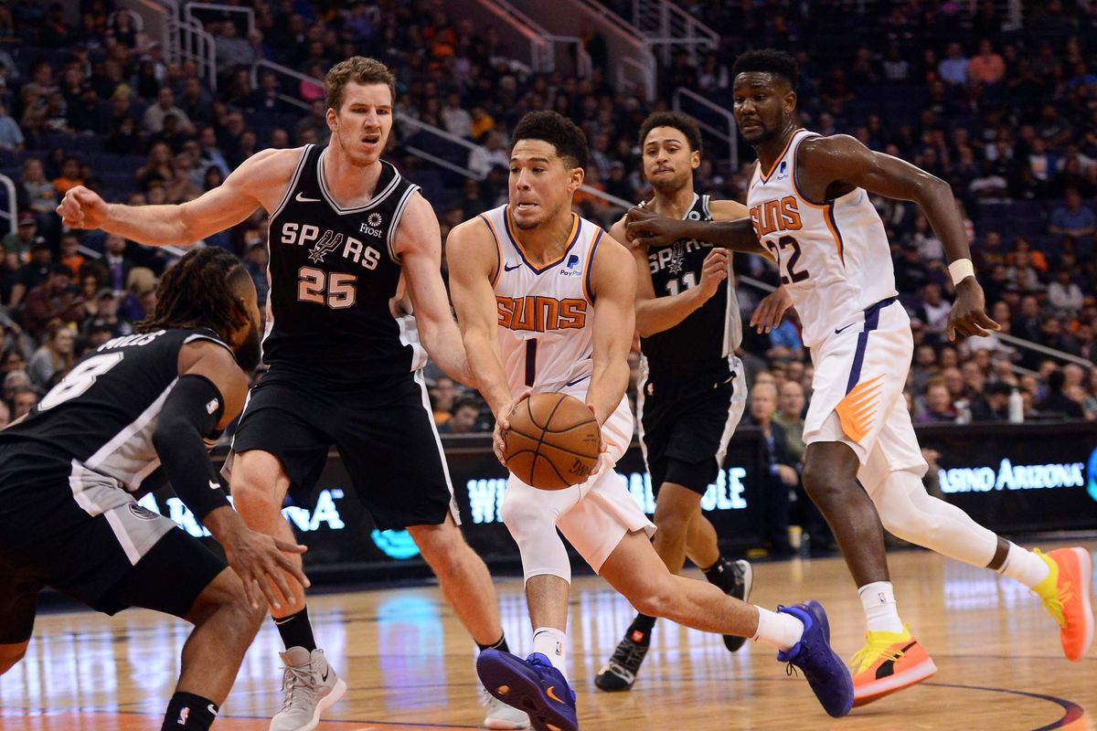 Review a Random Game Phoenix Suns vs. San Antonio Spurs - Sactown Royalty