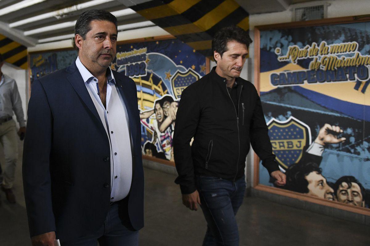 Boca Juniors Press Conference