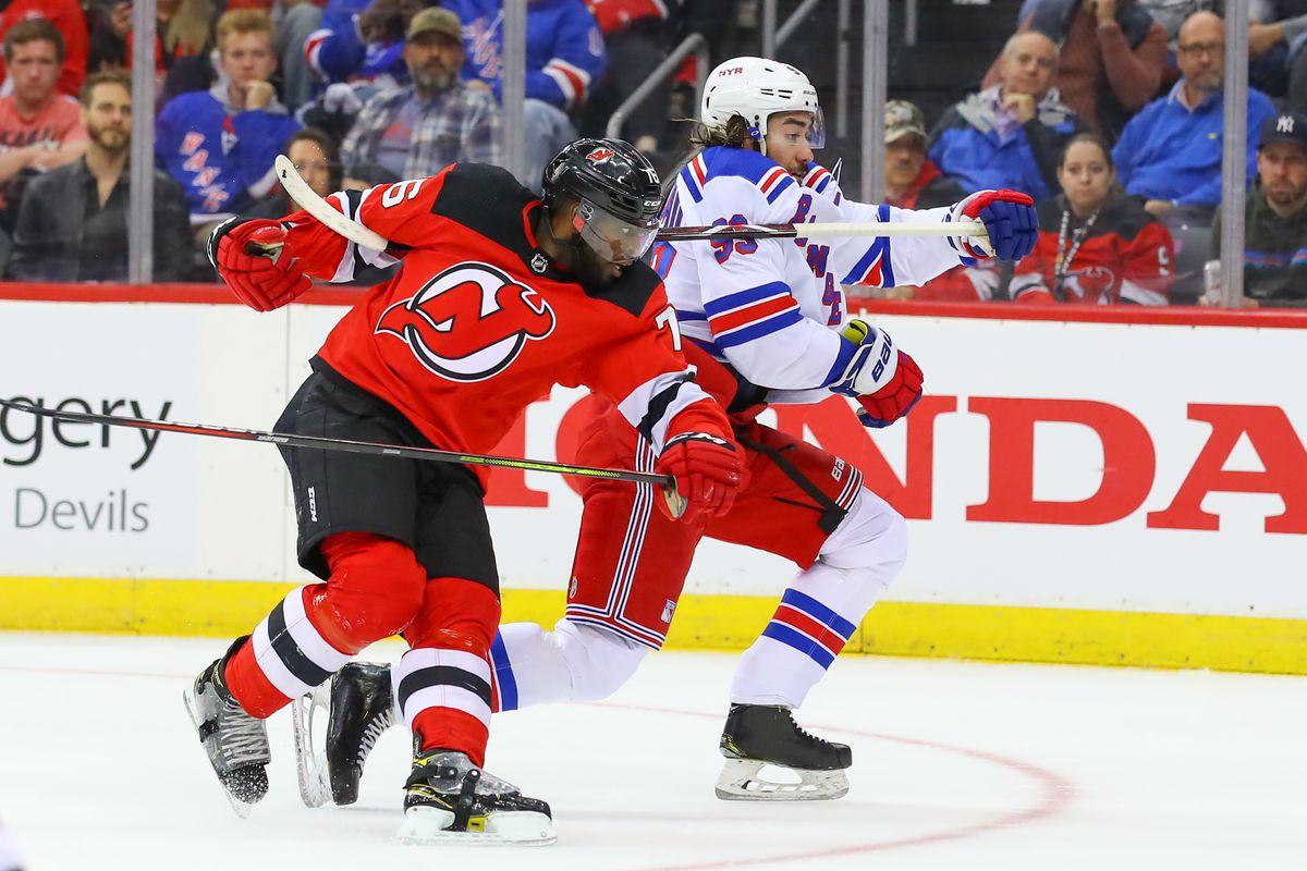 NHL: OCT 17 Rangers at Devils