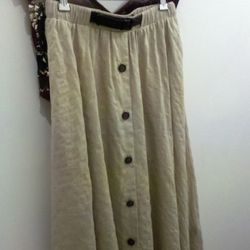 Dolce Vita skirt, on sale for about $132