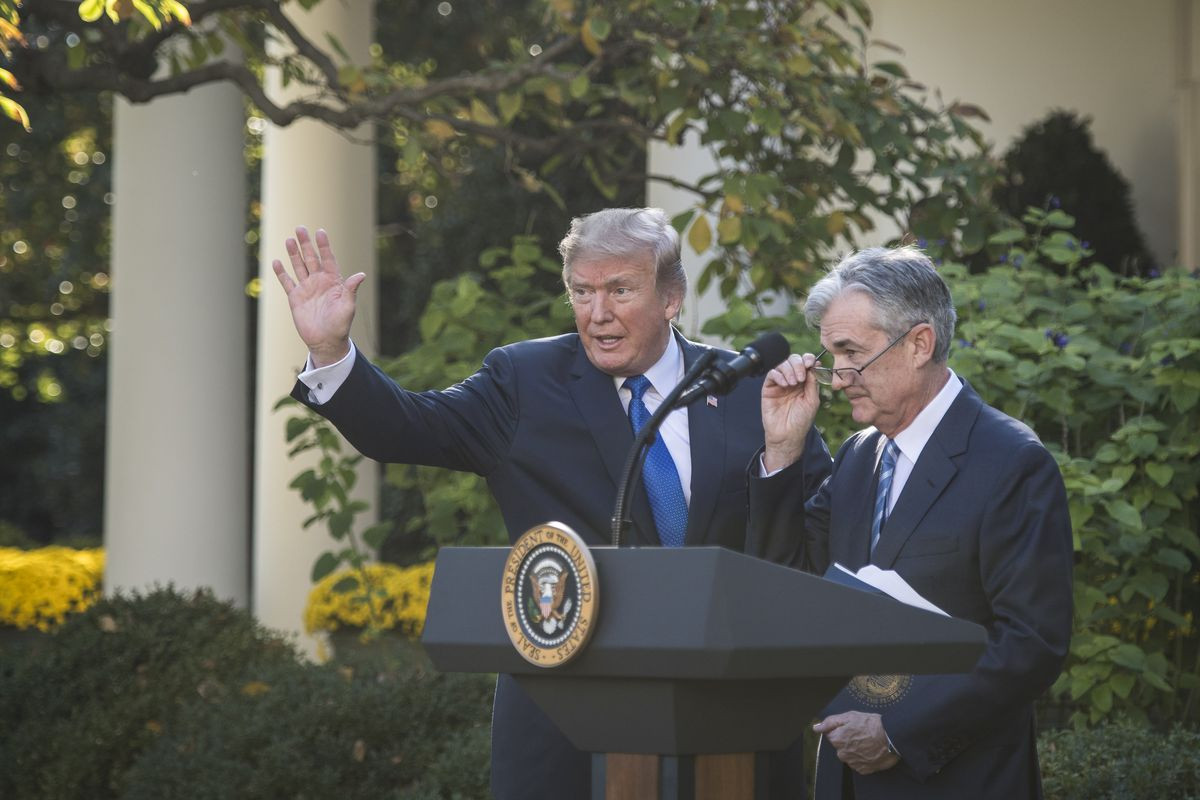 Donald Trump Doesnt Have Clue About My >> Donald Trump Vs Jay Powell And The Fed Vox