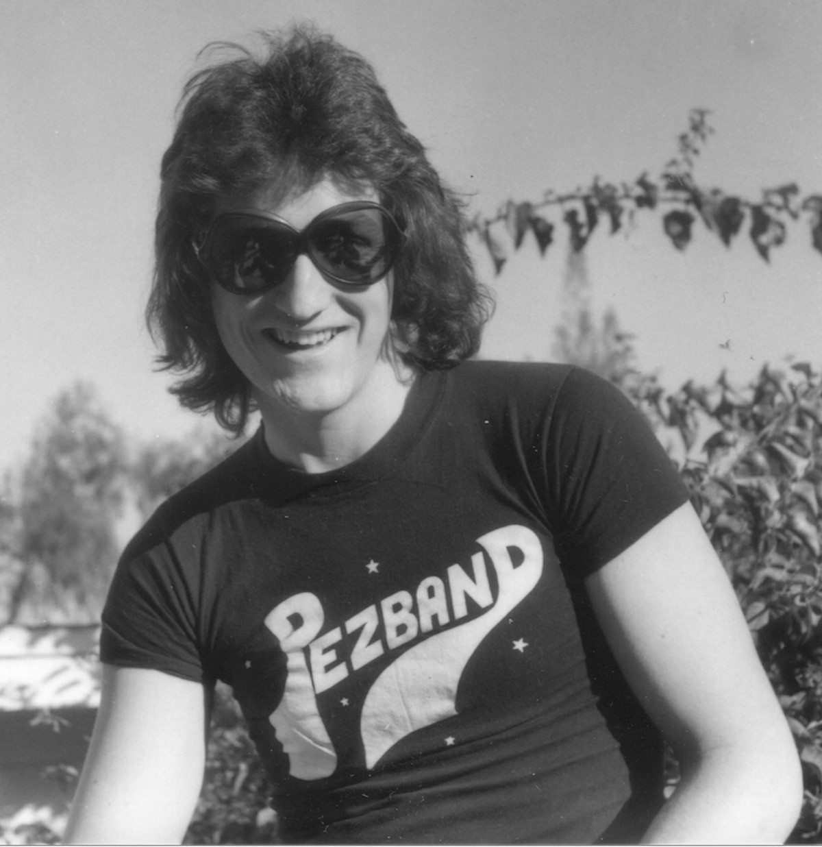 Mike Ruane in his days with Pezband.