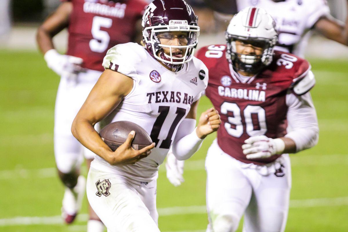 NCAA Football: Texas A&M at South Carolina