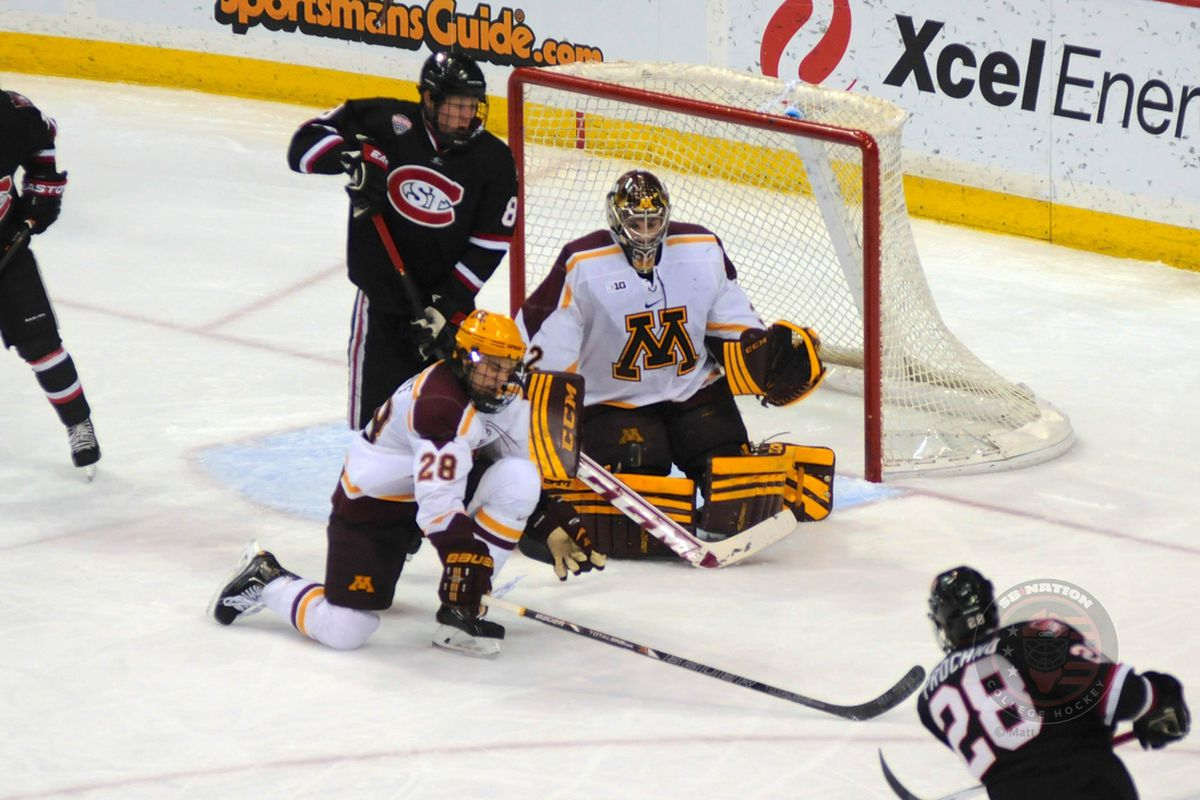 Minnesota's Adam Wilcox is one of 20 goalies on this year's Richter Award watch list