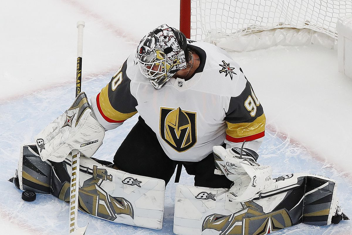 NHL: Western Conference Qualifications-Vegas at Colorado Avalanche