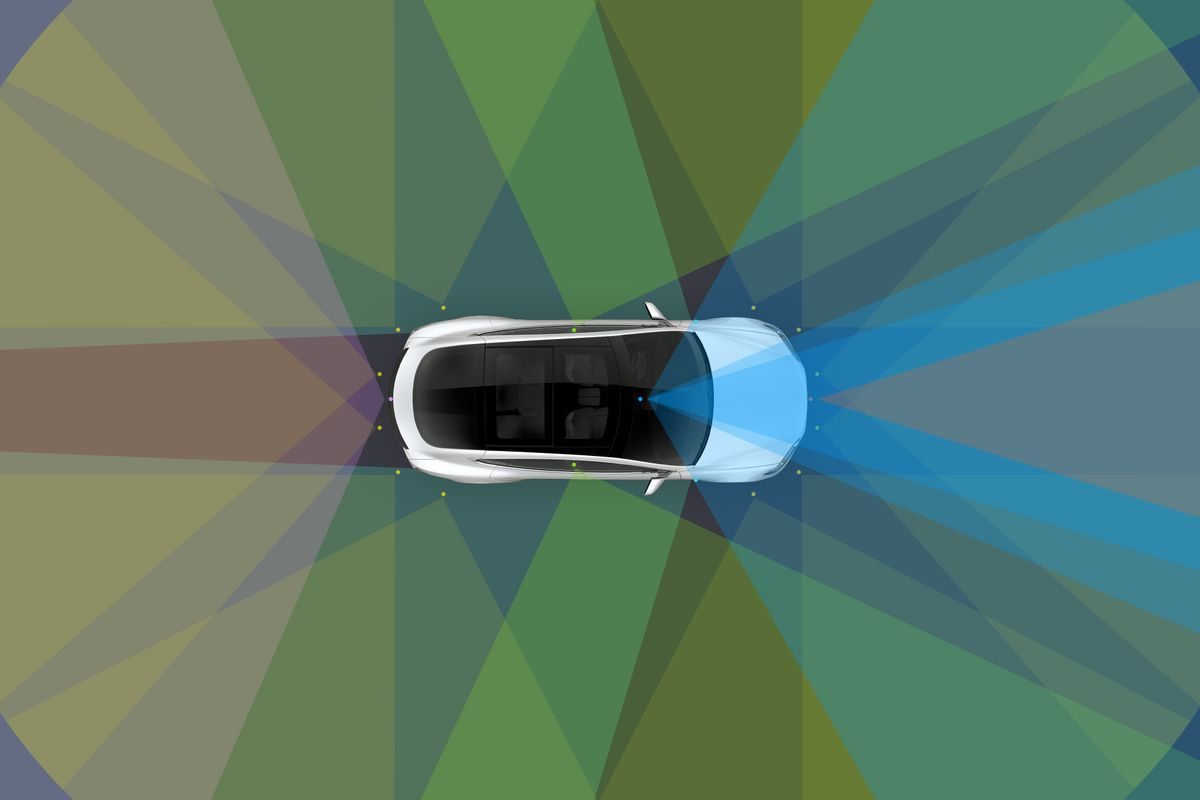 Watch a Tesla drive itself on local streets