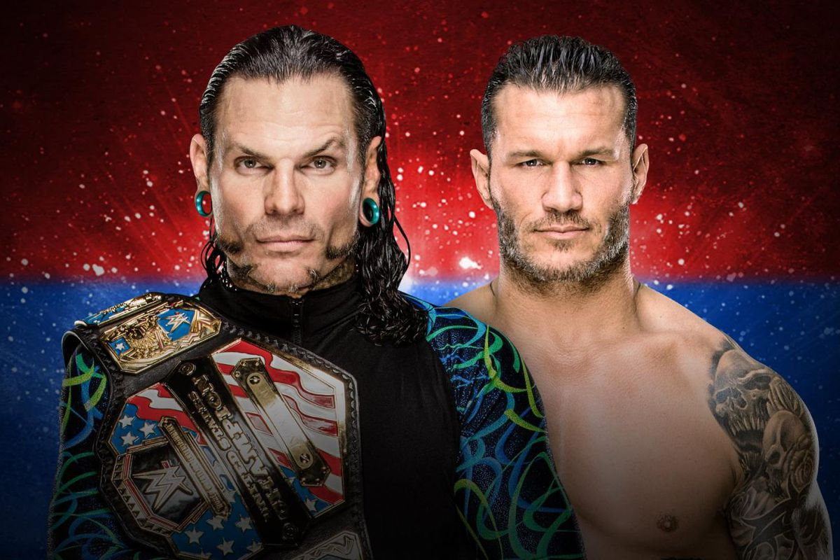 United States Championship Match Randy Orton Vs