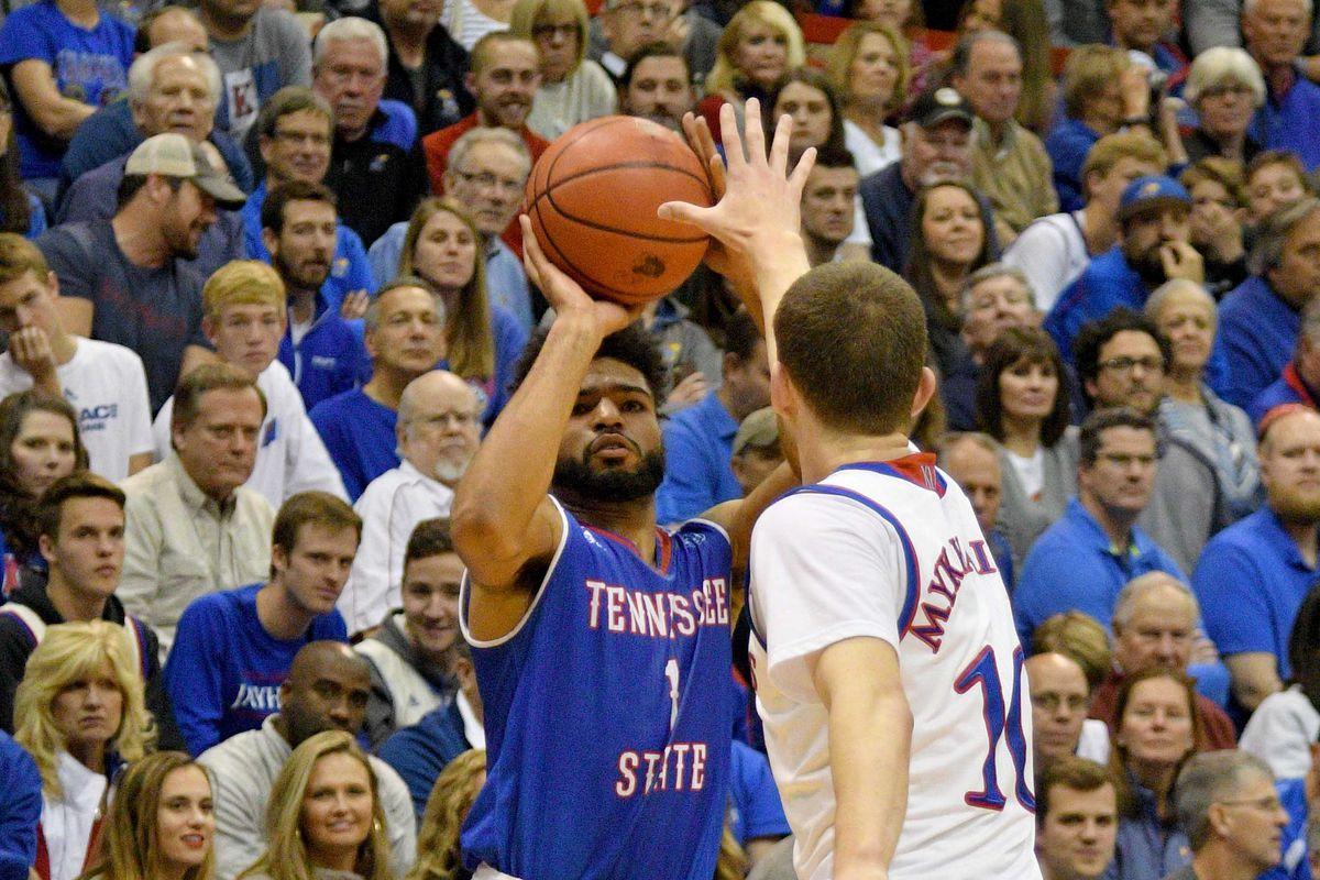 NCAA Basketball: Tennessee State at Kansas
